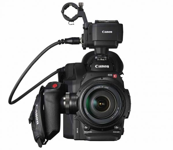 The C300 MkII with audio only jackpack.