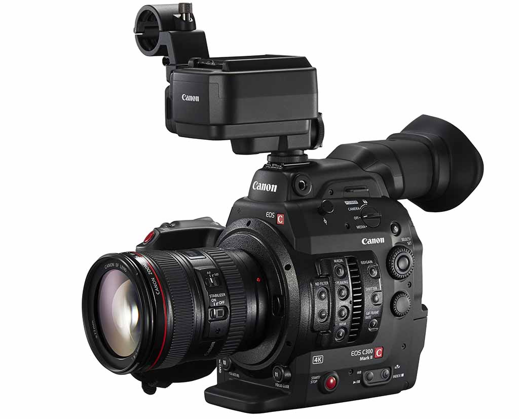 The Canon C300 mkII - will it be the new 4K production