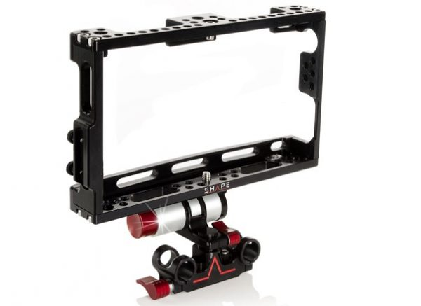 The cage with optional push button tech rod mount