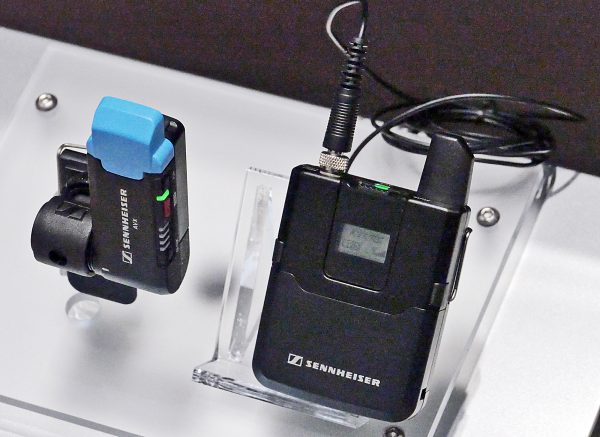 Sennheiser AVX wireless mics