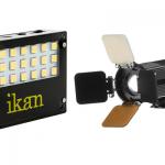 Ikan iLED-MA and iLED-MS on-camera LED lights