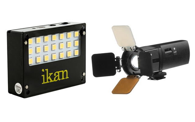 Ikan on-camera LED lights
