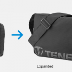 Tenba Packlite- the completely collapsible, self-stowing camera bag