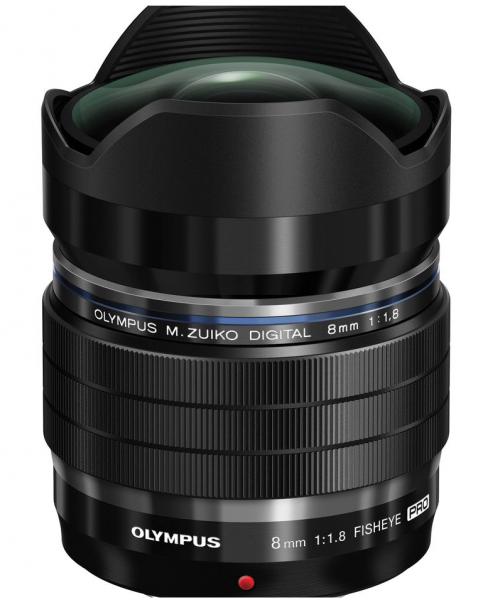 M.ZUIKO Digital ED 8mm f/1.8 Fisheye PRO Lens