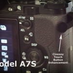 Cineasy Touch Video Record Button Enhancement for the Sony A7S