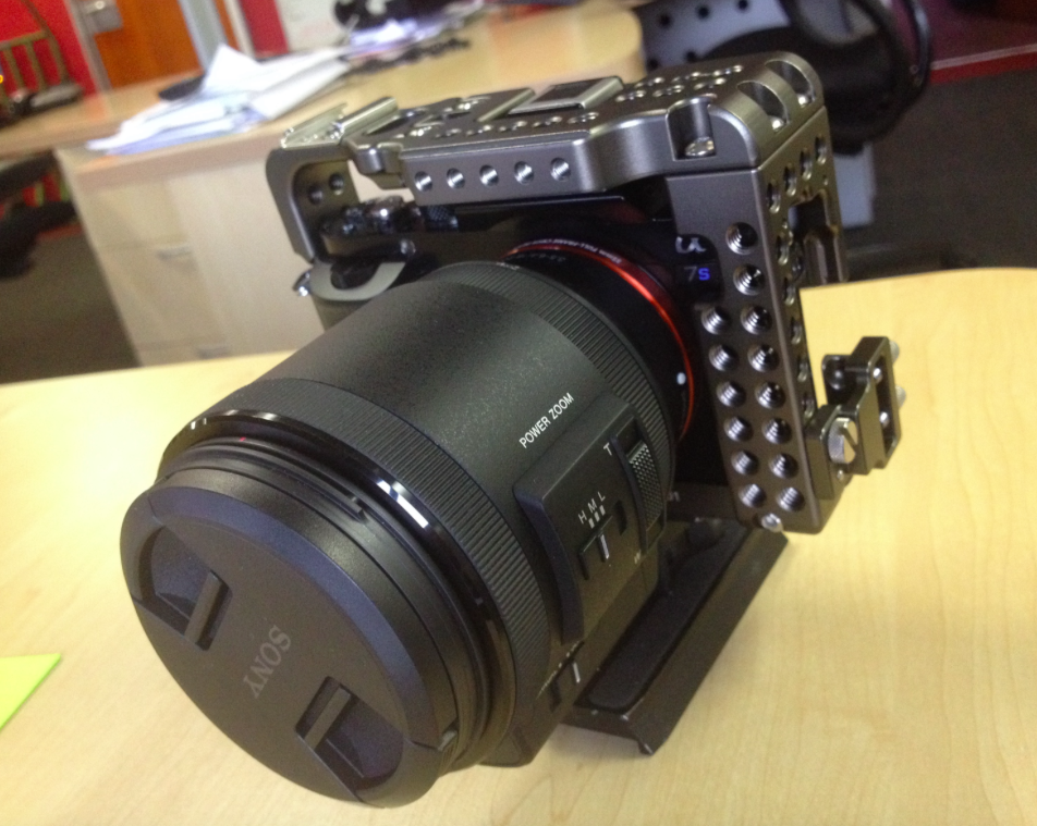 Shooting news with the Sony a7S- Guest post by Christian Parkinson