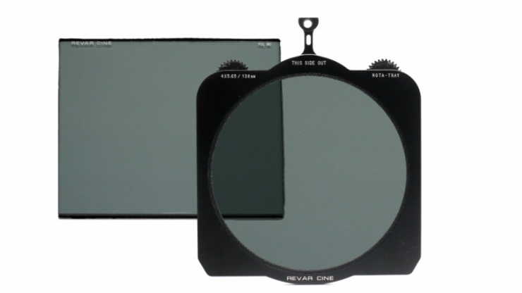 Revar Cine Rota-Tray 4×5.65/138mm Variable ND Kit - a matte box based solution to neutral density