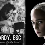 The Cinematography of Ex Machina: Go Creative show talks with cinematographer Rob Hardy BSC