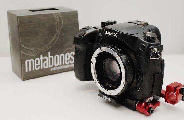The Metabones Speedbooster XL for GH4