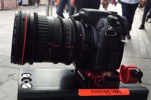 Shooting in Leicester Square with the GH4/Speedbooster/Tokina 11-16mm
