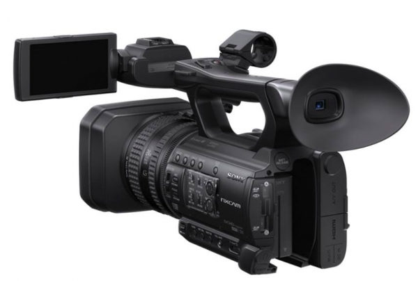 sony launches the hd only hxr nx100 nxcam camcorder 1 0 type exmor cmos sensor 24x zoom and. Black Bedroom Furniture Sets. Home Design Ideas