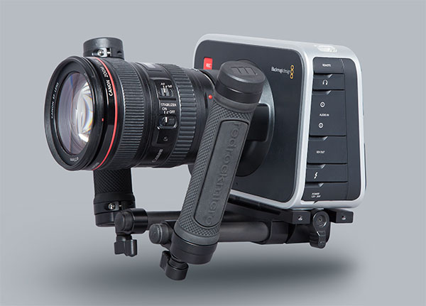 The Fury rig on a Blackmagic Cinema Camera