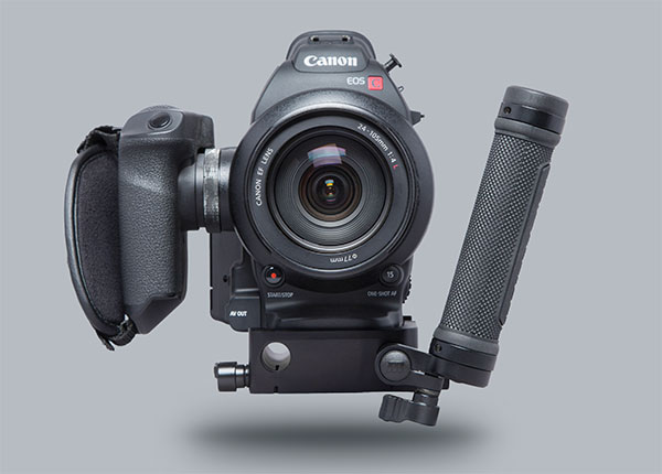 The Fury rig for Canon C100