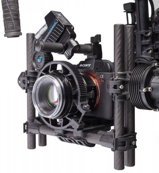 The Rhino rail is perfect for brushless gimbals