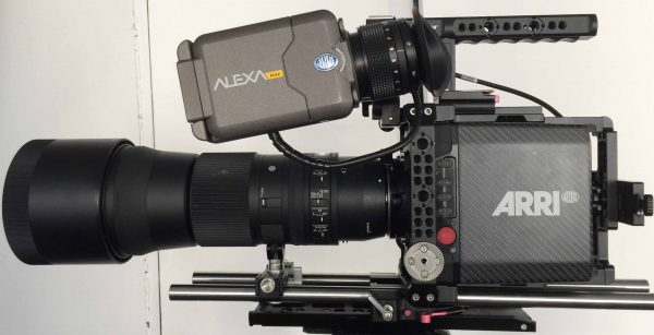 A pre-production version of the new Movcam cage for the Alexa MINI