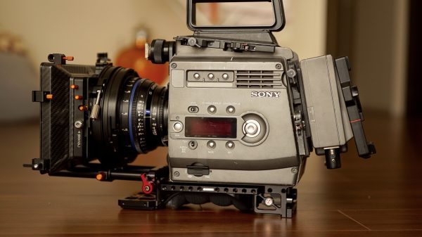 The Sony F35 is capable of using looks, LOG and LUTs