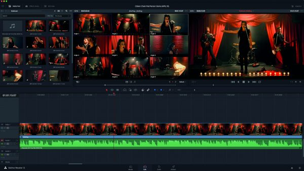 Multi-camera editing is now supported