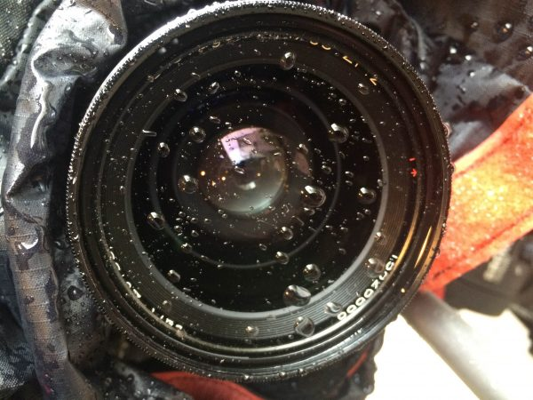 Nasty water droplets on your lens is something we all try and avoid,