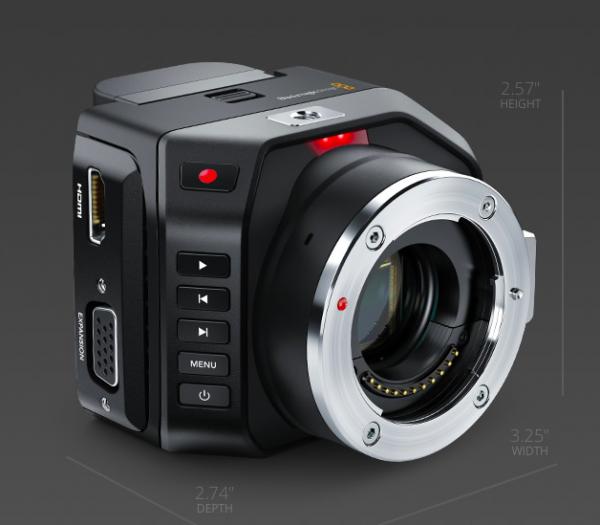 The Blackmagic Micro Cinema Camera