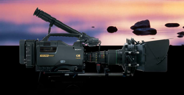 The Sony HDW-F900 used an optimized gamma curve with similar contrast characteristics to a specified film gamma curve.