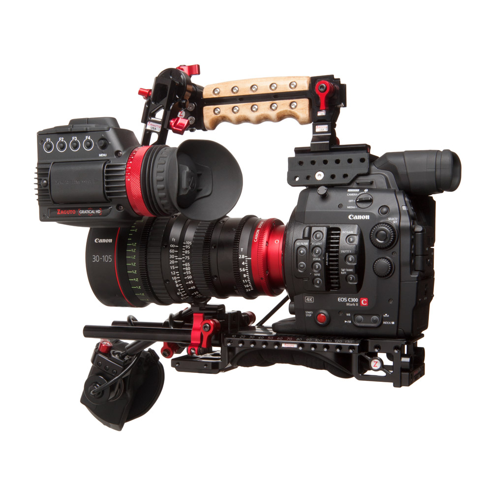 Zacuto first look at the Canon C300 Mark II - Newsshooter
