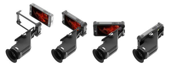 The SmallHD Sidefinder camera monitor/viewfinder