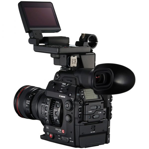 The Canon C300 Mark II