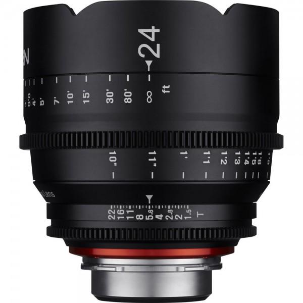 The XEEN 24mm lens in PL mount