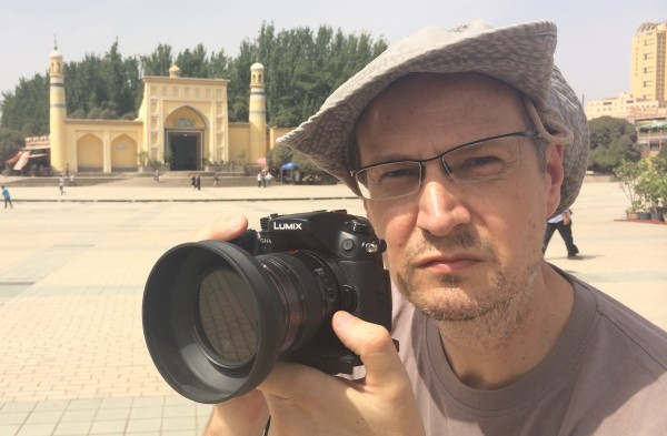 Andy Portch Id Kah mosque Kashgar