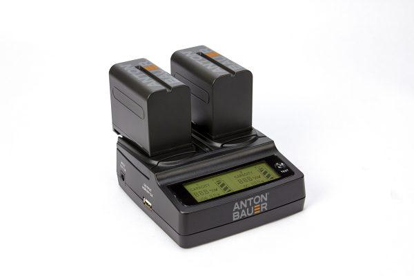 AntonBauer 7.2v battery & charter_dual