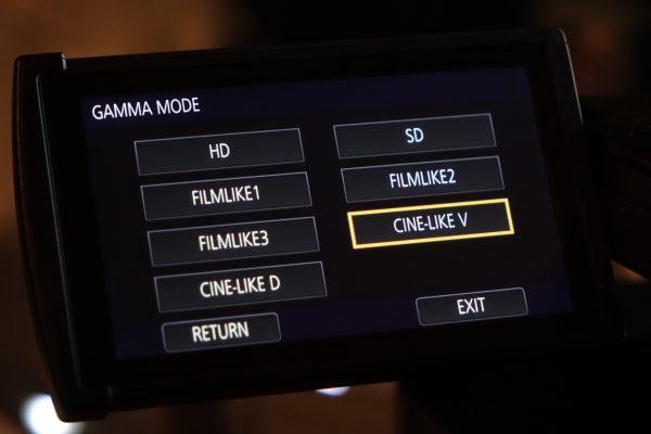 Gamma Modes on the camera