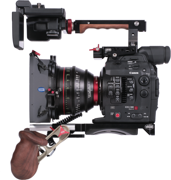 Vocas Tophandle Viewfinder Extension Bracket And