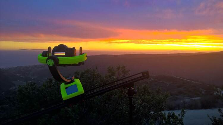 Steady Shot Bot: An automated robot with Hyperlapse, Gimbal