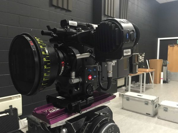 Arri Alexa and Cooke anamorphic  - not the smallest or lightest of camera packages