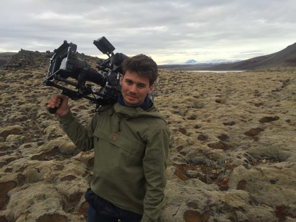 DoP Thomas Hole on location in Iceland