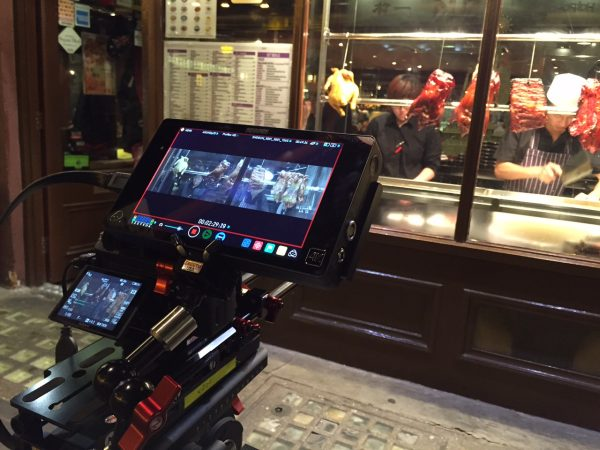 Filming in London's Chinatown with the Atoms Shogun and Zacuto VCT setup