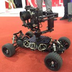 BIRTV 2015: Tilta show new radio controlled car with vibration reduction system and brushless gimbal
