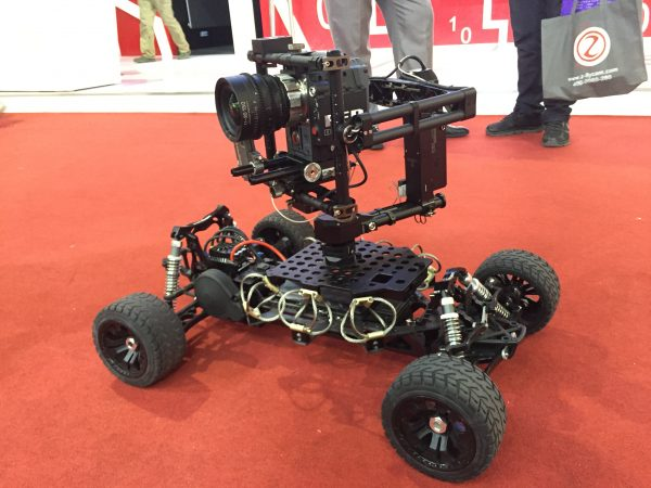 The Tilta/Vaxis Lighting R/C camera car