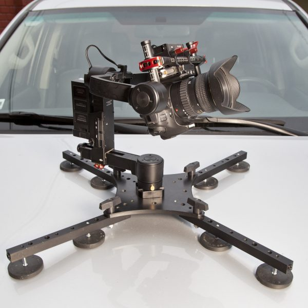 The RigMountXL with DJI Ronin attached