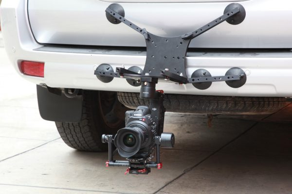 The Rigmount XL can also be mounted in a low mode