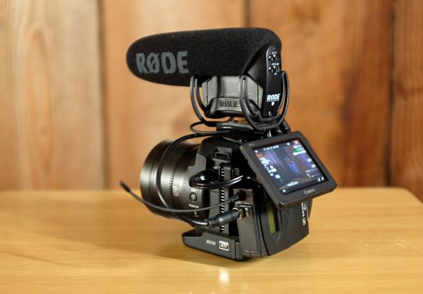 Canon-XC10-Rode-Videomic-Pro