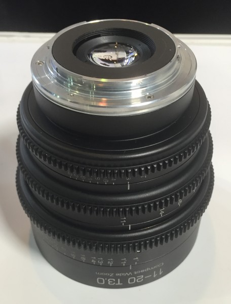 The EOS mounted version of the GL Optics 11-20mm