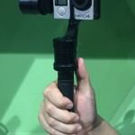 BIRTV 2015: Lanparte HHG-02 GoPro Hand Held Gimbal with detachable remote control handle