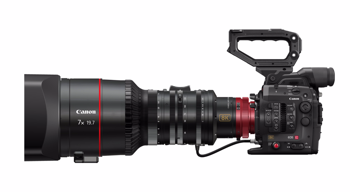 Canon developing a 8K Cinema EOS camera - but just look at