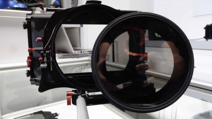 IBC 2015: Tiffen 138mm matte box mountable variable neutral density filter