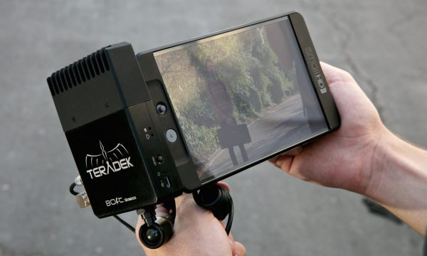 "This looks like it might be a 7"" SmallHD monitor, which should give you an idea of the size of the Sidekick"