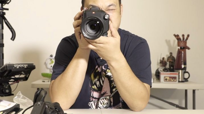 We never do unboxing videos. But hey…this is Sony's FS5