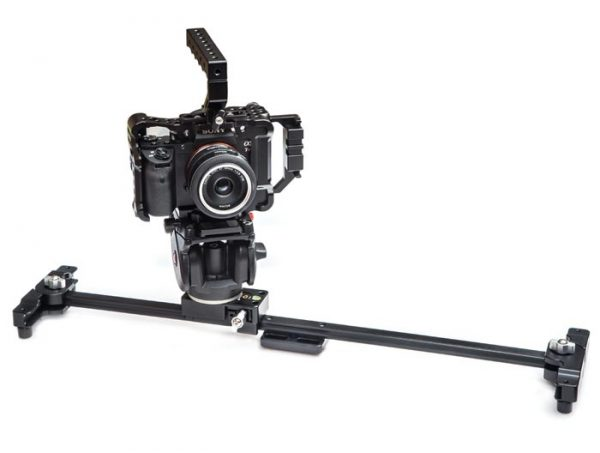 motion9 Single Linecam 60 slider - surprisingly rigid, very lightweight and with foldable legs that protect the ends of the rail when not in use
