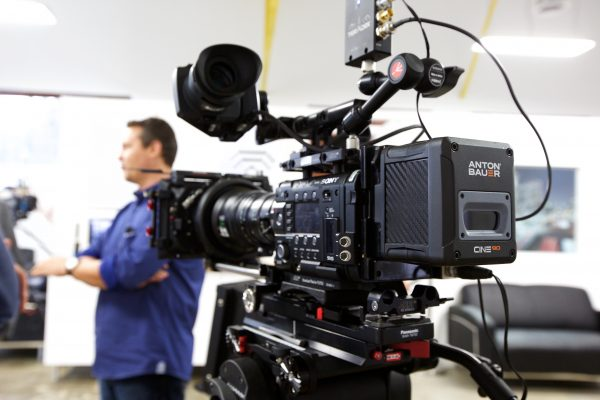 A Teradek setup on show at the Creative Solutions Los Angeles (CSLA) Grand Opening