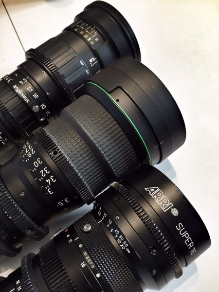 Old Super16 zoom lenses will get a new lease of life with the FS7 centre scan mode